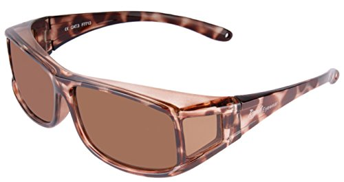 Joysun polarisierte LensCovers Sonnenbrille Unisex tragen über Korrekturbrille 8008R1 AM6EspNZ9